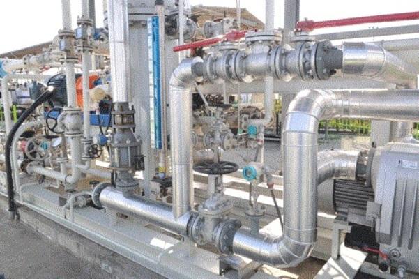 احداث واحد بازیافت بخارات بنزین به روش غشائی در انبار نفت کرج